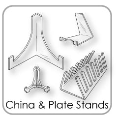 China & Plate Stands