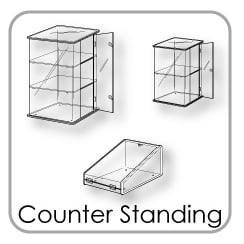 Counter Standing Display Cases