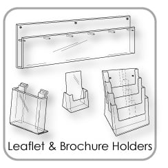 Leaflet & Brochure Holders