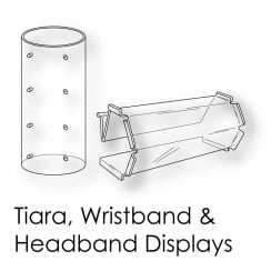 Tiara Headband & Wristband Stands