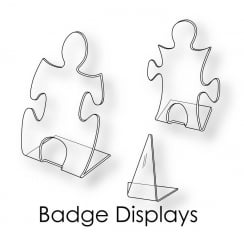 Badge Displays