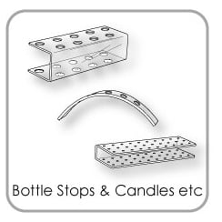 Bottle Stop - Nail Stick - Candle & Cone