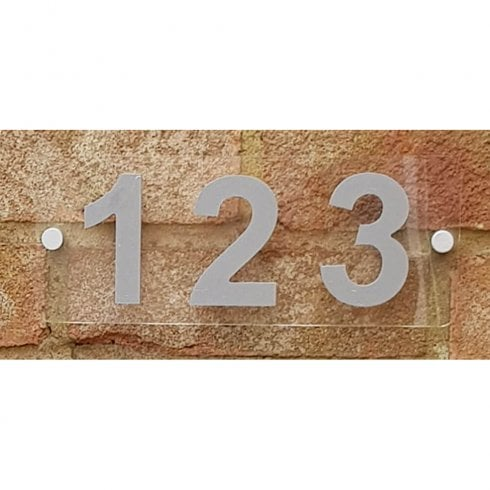 Door number sign: 10cm (acrylic sign)