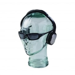Glass head: Clear (glass display head)