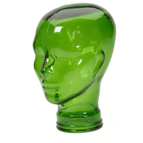 Glass head: Green