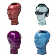Glass head selection of colours