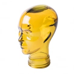 Glass head: Yellow (yellow glass head)