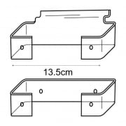 Glasses display adaptor kit-slatwall (slatwall adaptor )