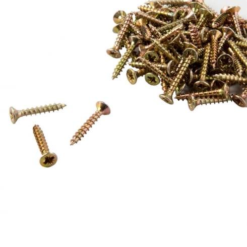 Groovewall fixing screws: pack of 100 (slatwall: shop fittings)