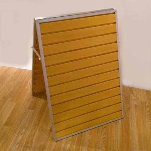 Groovewall slatwall free standing A frame (slatwall: shop fittings)