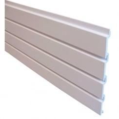 Groovewall slatwall panel: pack of 6 (slatwall: shop fittings)