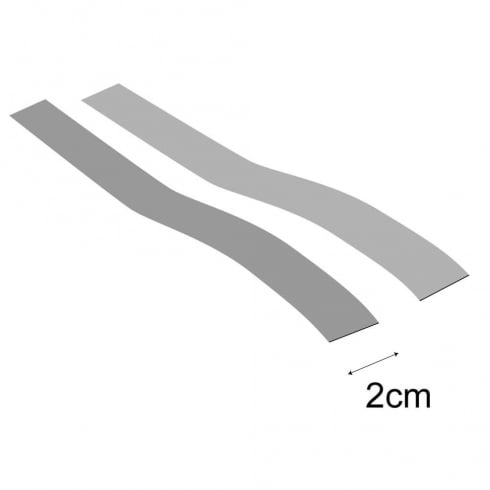 Hook & loop strip: 250cm (point of sale accessories)