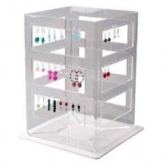 Ladder spinner: all types of earrings (acrylic earring displays)