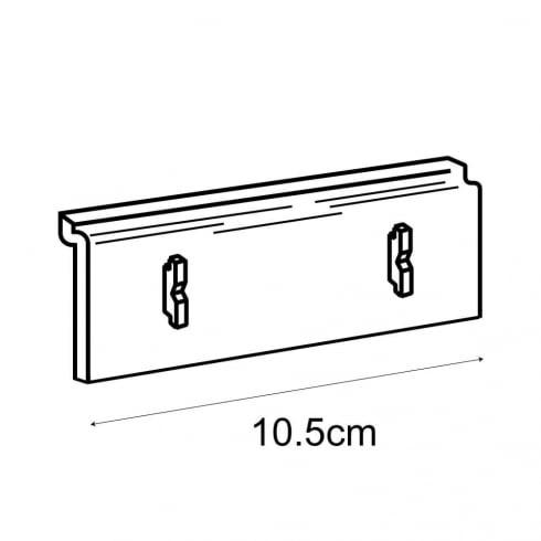 Leaflet holder adaptor-slatwall (brochure holder)