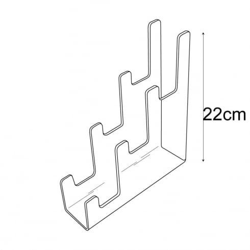 Mini triple support (display equipment)