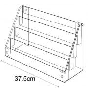 Minicard display-counter/wall (greetings card display stand)