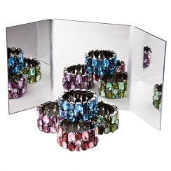 Mirror multiplier (acrylic mirror displays)