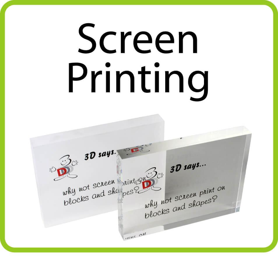 Screen Printing Perspex