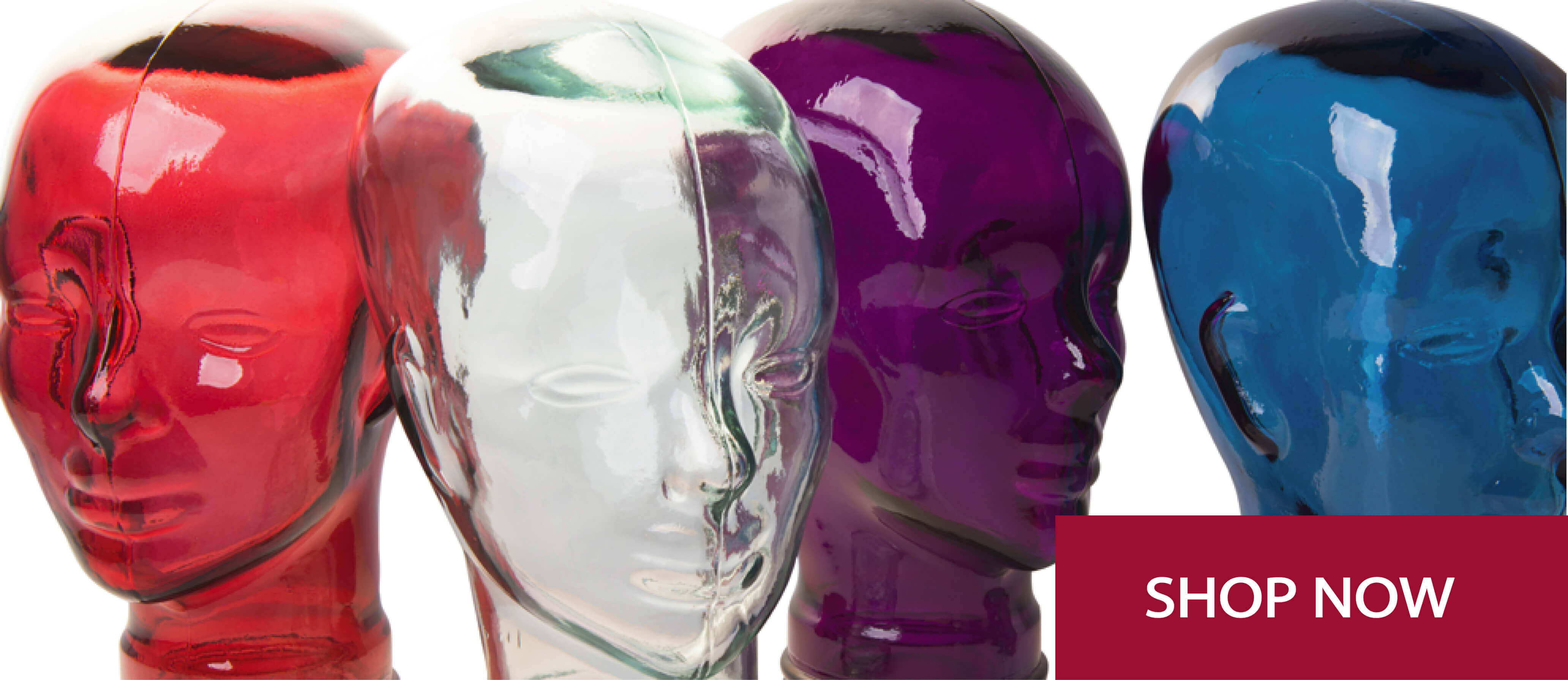 glass heads