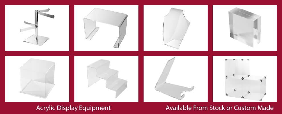 Perspex Display Equipment