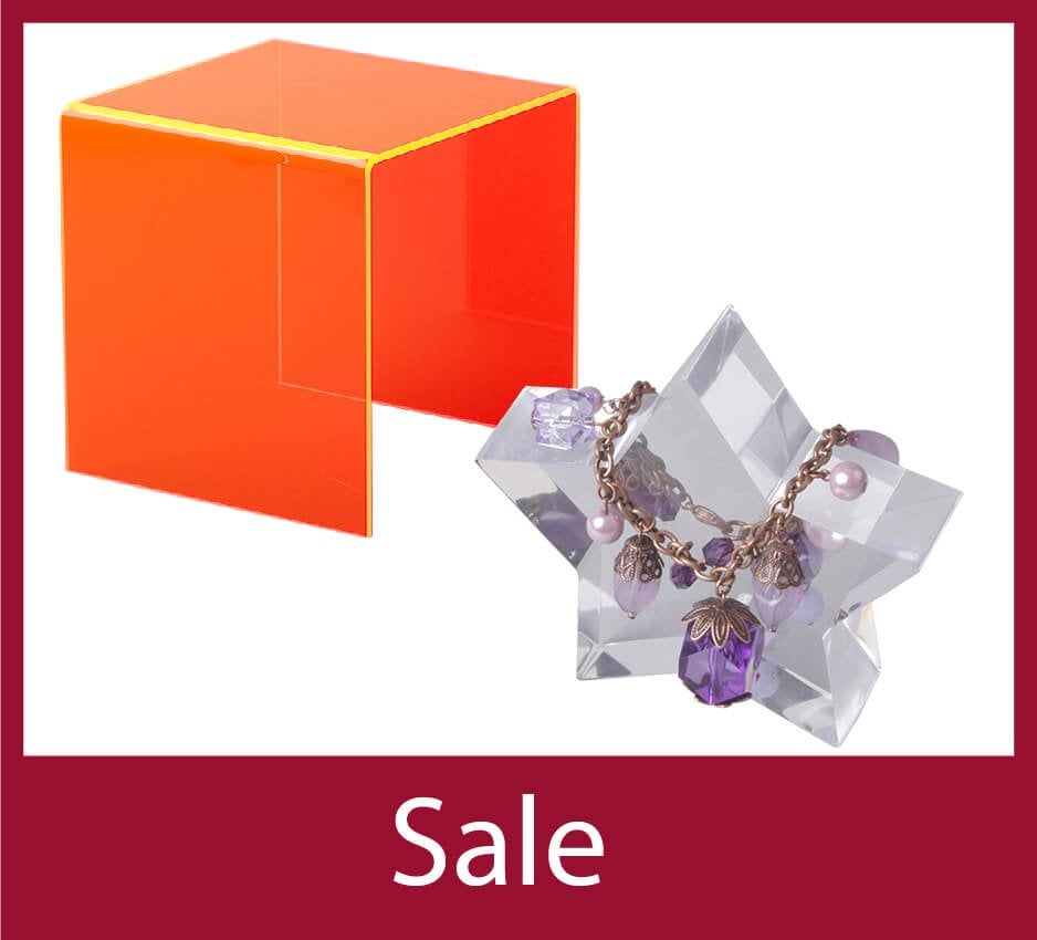Up to 50% off Perspex Displays
