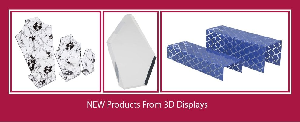 New Products from 3D Displays