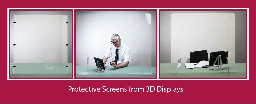Protective Perspex Screens