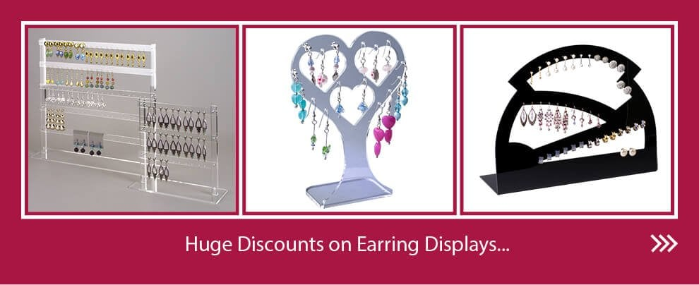 Earring Display promotion