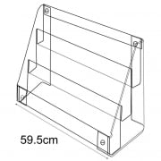 Multi merchandiser-counter/wall (tiered trays & tubs)