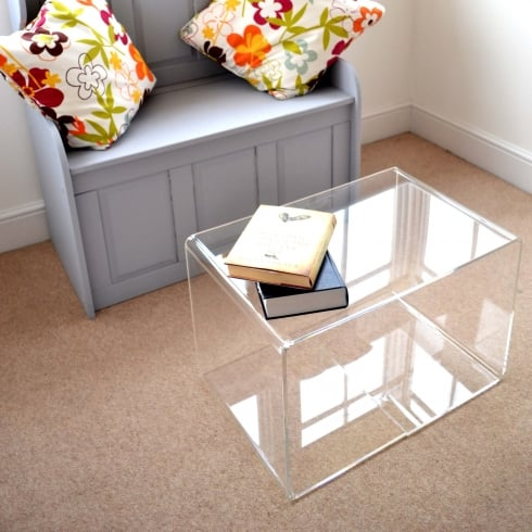 PERSPEX® acrylic coffee table: 40cm