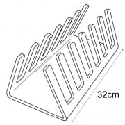 Plate rack (plate stands & shop equipment)
