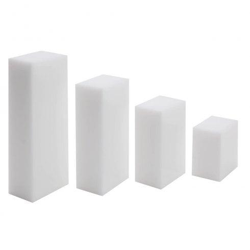 Plinth set (solid acrylic plinth)