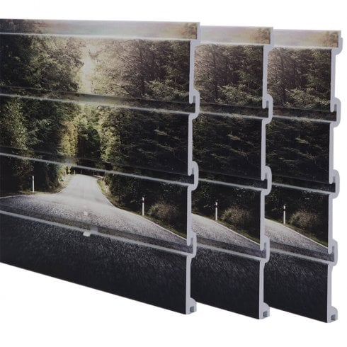 Printed Slatwall - Forest