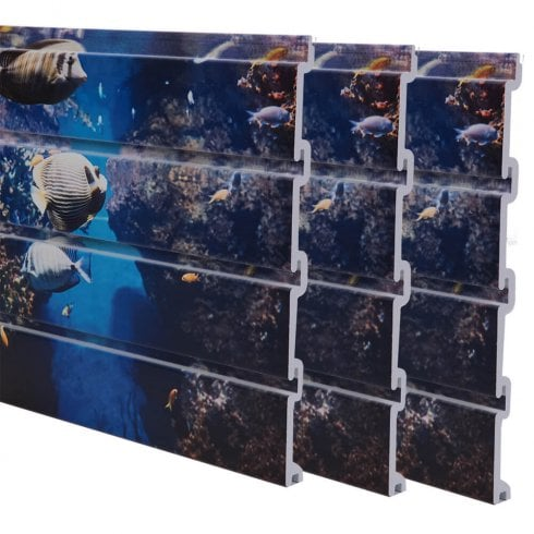 Printed Slatwall Panels