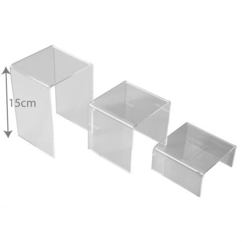 Riser set (acrylic display stands)