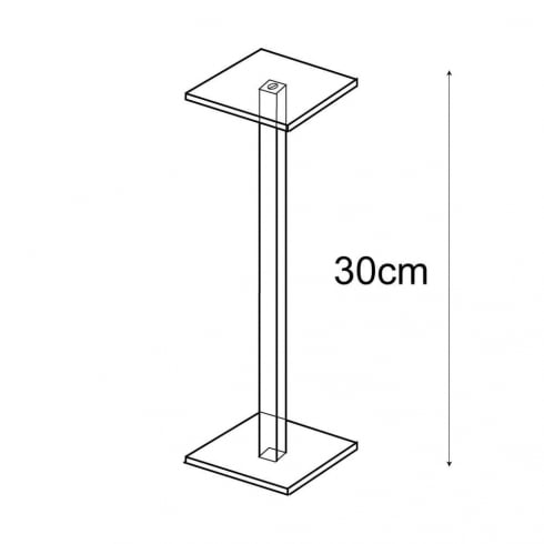 Shelf stand 1 shelf (window displays: shelving)