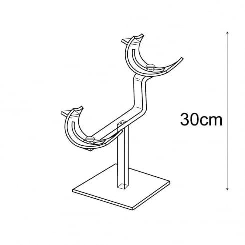 Shoe stand double (shoe display)