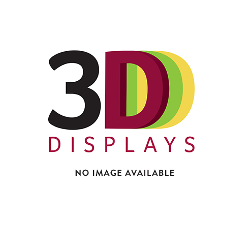 Slotted display panel + 6x H57100 (acrylic display stands & pos)