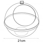 Spherical pick bin (containers & tubs: shop equipment)