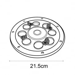 Turntable for L4530M (spinners)