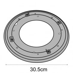Turntable for L4560M (spinners)